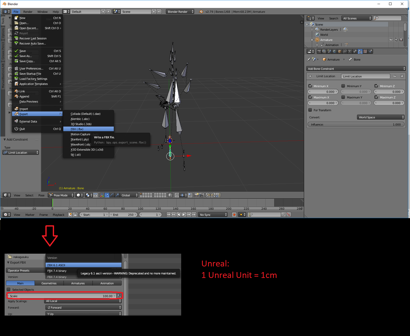 UE4 Blender Guide For Mixamo Imports Part 1 – Preparing the