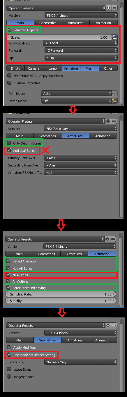 Unity Blender Guide For Mixamo Imports – Importing the Model into